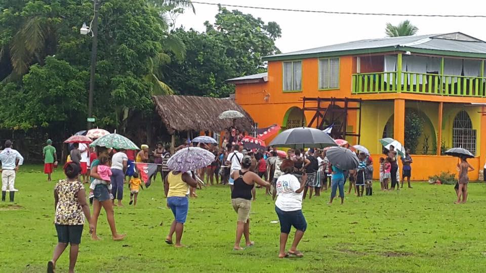 Jovenes reunen en Orinoco para la celebracion de Revolucion Sandinista